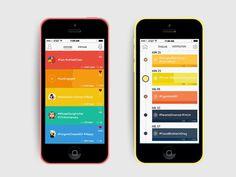 Timeline In Mobile Apps UI Design