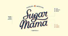 Sugar Mama on Behance #logo #typography