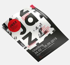 J A Z Z on Behance #jazz #poster