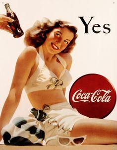 Vintage Posters - Vintage Coca-Cola #coke