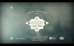 20000 leagues under the sea on Motion Graphics Served #motion #20000 #opening #titles #leagues