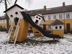 Ridiculously Imaginative Playgrounds by Monstrum #children #play #kindergarden
