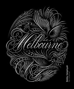Melbourne knative #typography #australia #melbourne #knative