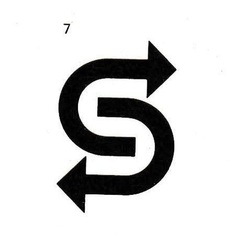 Tom Geismar, logo for Sealtrain Lines Inc., USA. As reproduced by Walter Diethelm in Signet Signal Symbol, 1970.