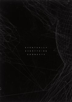 Eventually Everything Connects by ~ravivasavan on deviantART #geometry #geometric #poster