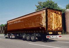 Kit Kat Mars Truck Design Idea ins #ideas #ads