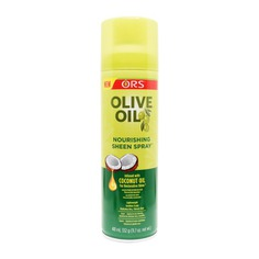ORS Olive Oil Nourishing sheen Spray provides great sheen to your hair as it bathes each hair strand with its powerful formulation.