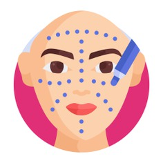 See more icon inspiration related to face, facial, lift, cheek, healthcare and medical, wellness, surgery, lifting, beauty, guide, user, lines, healthcare and medical on Flaticon.