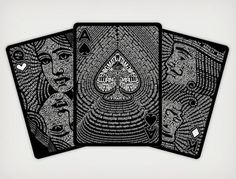 The Black Book of Cards – Fubiz™ #cards
