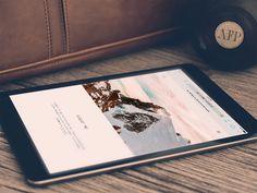 Personal website - Michele Mazzucco #website #portfolio #personal #minimal