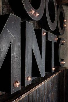 Tumblr #wall display #furniture #typography
