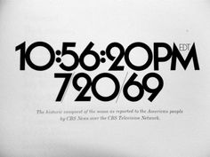 Typographic Life - Typography by Herb Lubalin Photo by Justin Thomas... #serif #design #sans #typography
