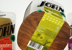 Captain John packaging by Galya Akhmetzyanova & Pavla Chuykina branding #cheese #food