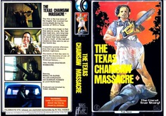 Image result for texas chainsaw massacre vhs