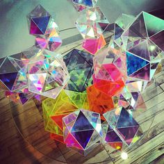 CJWHO ™ (Sparkle Geometric Table by John Foster)