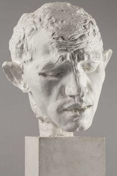 Auguste Rodin Pierre de Wissant, tête type C (Pierre de Wissant, type C head) c.1885-1886 Musée Rodin #sculpture #bust #portrait #sentime