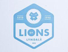 FFFFOUND! #logo #lion #emblem