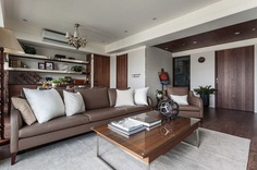 Taipei City Luxury Apartment by Chien Design 6
