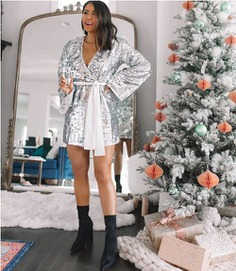 Glamorous sequins dresses for holiday looks     Just Trendy Girls