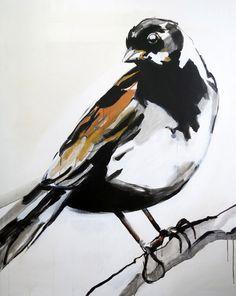 Maartje_van_den_Noort #painting #bird