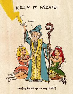 John Cei Douglas #comic #illustration #wizard