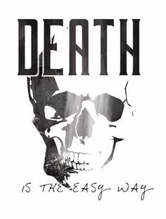 Death is the easy way #design #design4 #istanbul #fashion #logo #coolbear