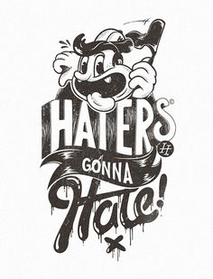 photo #color #texture #illustration #one #haters