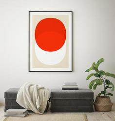 Outlined.cc Limited Edition Artwork Debut Seven geometric art print design artprint wallart