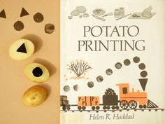 Present&Correct - Potato Printing #retro #book #publishing #illustration #vintage