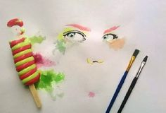 ice-cream-paintings-othman-toma-1 #water #cream #colours #painting #art #ice