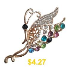 FEIS #Fashion #Butterflies #Brooch #- #GOLD