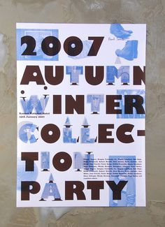 Kyuhyung Cho #poster #typography