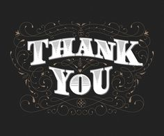 The Phraseology Project #inspiration #lettering #you #design #thank #blog #type #typography