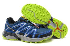Mens Salomon XT Hornet Blue Green