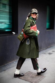 Ana After Etro, Milan | The Sartorialist