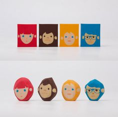 Rubber Barber #hair cut #rubber #eraser #chen lu wei