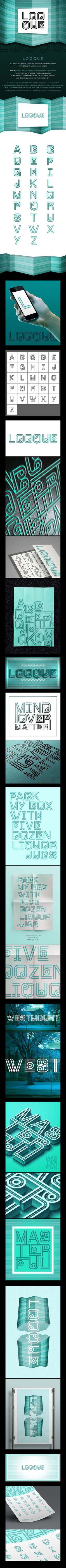 Looque : Free Decorative Font