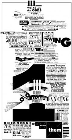 Rise of the 1 Percent - Op-Art - NYTimes.com #typography