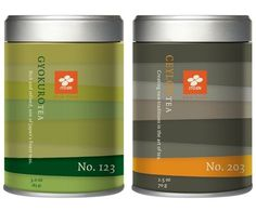 ITO EN Loose Leaf Tea on the Behance Network #tin #tea