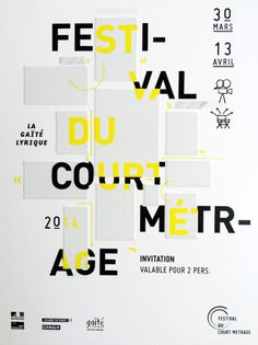 Festival Du Court Metrage Poster