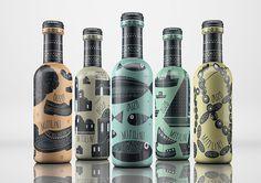 Taste of Greece — The Dieline #beverage #branding #packaging #wine #label