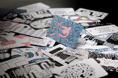 Bittersuite Business Cards #clement #bruin #de