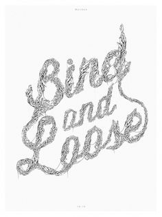 Bind & Loose on the Behance Network #mark #loose #years #john #resolution #and #herskind #bind #new
