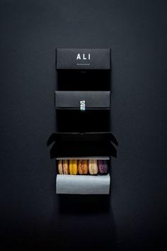Ali. Luxury chocolate brand