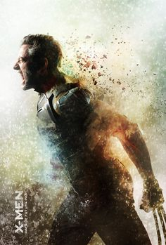 X-Men: Days of Future Past, Wolverine by TavenerScholar #inspiration #photo #digital #illustration #manipulation #art #x-men