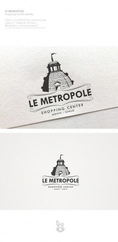 Metropole Identity on the Behance Network #lecoupdulapin #logo