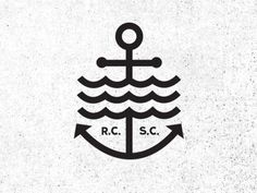 Rcsc_02 #logo #anchor #sea