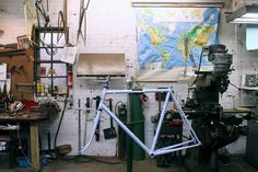 JohnnyCoast Shop 2.jpg #bikes #workshop #bicycle