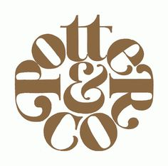 Potter & Co. #type #logo #typography