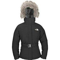 North Face Greenland Down Parka Black-Womens #jacket